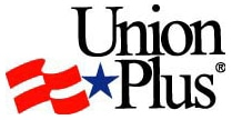 Union Plus logo; Union Plus; Union Plus Benefits