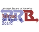 RRB logo; Railroad Retirement Board