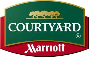 Courtyard Marriott logo; Courtyard Marriott; hotel; motel