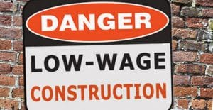low wage