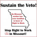 Missouri Right To Work Veto
