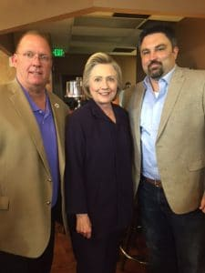 Doyle Turner, Hillary Clinton, Jared Cassity