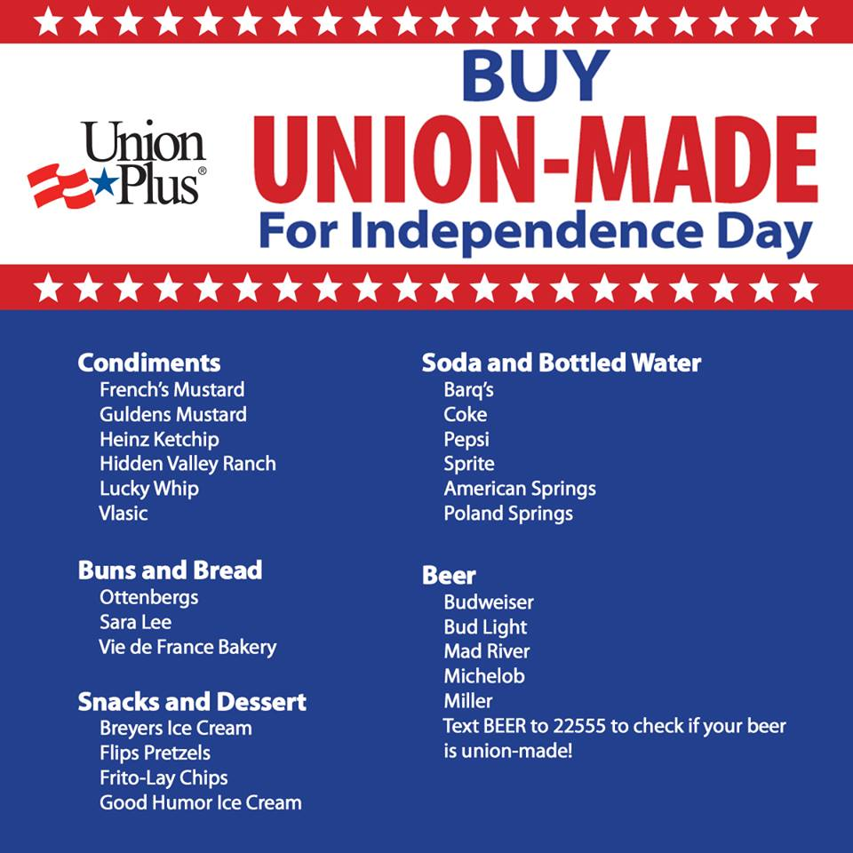4th of July union made
