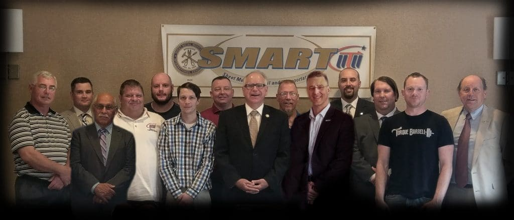 U.S. Rep. Tim Walz has been endorsed by the SMART TD Minnesota State Legislative Board in his run for governor.